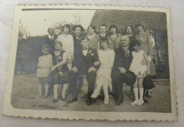 Photographie Ancienne MARIAGE Années Folles - Photo  De Famille - Lieux