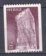 VIKINGS WIKINGER ARCHAEOLOGY ARCHÉOLOGIE RUNENSTEIN RUNE STONE Pierre Runique SWEDEN SUEDE SCHWEDEN 1975 MI 907 MNH - Archaeology