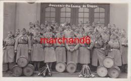Allemagne Souvenir Du Camp De Sinsen Carte Photo A Identifié - Guerra 1914-18