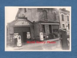 Photo Ancienne - REVIGNY Sur ORNAIN ( Meuse ) - Garage PEUGEOT - Pompe à Essence - Automobile
