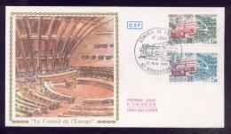 FDC Premier Jour - Conseil De L'Europe - 1982 - FDC