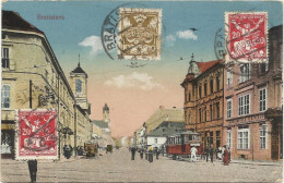 BRATISLAVA (SLOVAKIA)  - Animata - Tram - Viaggiata 1921 X Dembos -  Fp  A1 - Slovakia