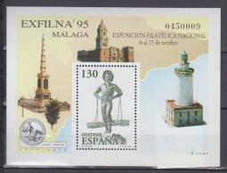 ESPAGNE  1995    BF     N°  66       COTE      2 € 75 - Blocs & Feuillets