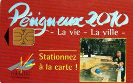 CARTE DE STATIONNEMENT  VILLE DE  Perigueux  ***** - France