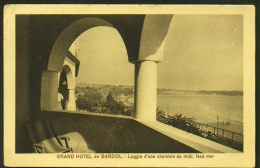 Grand Hôtel De BANDOL - Loggia D'une Chambre Au Midi Face à La Mer - Bandol