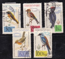 Tchécoslovaquie 1964 N°Y.T. :  1361 Et 1363 à 1366 Obl. - Gebruikt