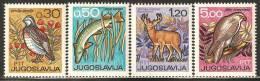 Yugoslavia 1967 Mi# 1228-1231 ** MNH - Fauna - 1945-1992 Repubblica Socialista Federale Di Jugoslavia