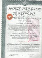 Société Financière De Transports Et D'Entreprises Industrielles (SOFINA) - Afrique