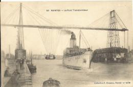 NANTES - Le Pont Transbordeur - Bateau Vapeur   218 - Nantes