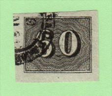BRZ SC #24  1850 Numeral, CV $3.00 - Brazil