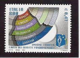 2001 Italien Mi. 2764 **MNH - Europese Gedachte