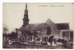 Cpa  Guilers   L'église - Francia
