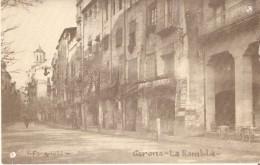 POSTAL DE GERONA DE LA RAMBLA (GIRONA) (V. FARGNOLI) - Gerona