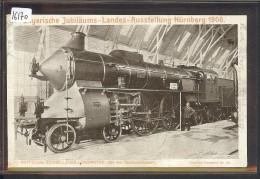 NÜRNBERG - BAYERISCHE JUBILÄUMS LANDES AUSSTELLUNG 1906 - BAHN - TRAIN - TB - Nuernberg