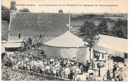 CLUIS - La Procession De La Trinité à La Chapelle De Cluis-Dessous - Fête Foraine, Manège - France