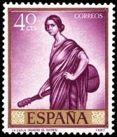 ESPAÑA SEGUNDO CENTENARIO NUEVO Nº 1658 ** 40C MALVA ROMERO DE TORRES - 1961-70 Neufs