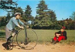 """CPM - Bicycle """"LE KANGOROO"""" - Inventé Par Rousseau - 1877 - Postcards"""