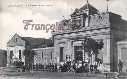 (33) Le Haillan - La Mairie Et Les Ecoles - 2 SCANS - Frankrijk