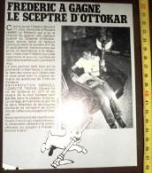 DOCUMENT HERGE TINTIN FREDERIC BOISARD A GAGNE LE SCEPTRE D OTTOKAR - Collections