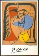 """Carte Postale """"Cart'Com"""" (2002) - Espace Ecureuil - Picasso - Portraits / Autoportraits 1949 / 1963 - Artistes"""
