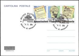 Repubblica Italiana - Intero Postale - ASSOCIAZIONI FILATELICHE ITALIANE CENTENARIE - 2014 - Euro 0,80 - FDC - Stamped Stationery