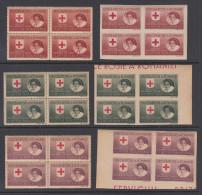 Romania 1946 - Michel XI In Block Of 4 Mint Never Hinged ** - 1918-1948 Ferdinand, Charles II & Michael
