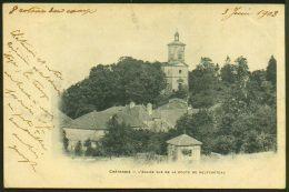 CHATENOIS - L'Eglise Vue De La Route De Neufchâteau - Chatenois