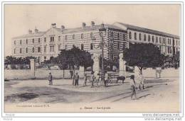 ORAN EN ALGERIE  LE LYCEE - Oran