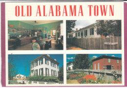 OLD ALABAMA TOWN .- Colombus Street - Etats-Unis