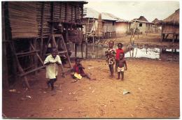 Cité Lacustre De Ganvié Lac Nokoué République Du Bénin - Benin