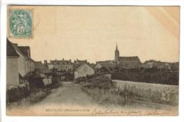 CPA BEAULIEU SUR LAYON (Maine Et Loire) - Vue Générale - Other Municipalities