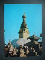 Nepal: Swoyambhunath Stupa - Unused - Nepal