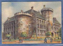 Carte Postale BARRE-DAYEZ  2059 B Angoulême  L'hotel De Ville  Trés Beau Plan - Illustrateurs & Photographes