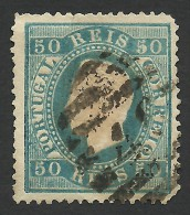Portugal, 50 R. 1879, Sc # 43, Mi # 48xC, Used - Used Stamps
