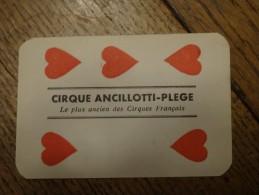 Cirque Circus Ancilotti Plège Carte Souvenir - Cartes