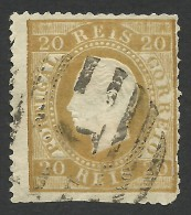 Portugal, 20 R. 1870, Sc # 39, Mi # 37xaC, Used - Used Stamps