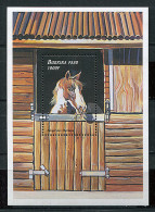 (cl 22 - P56) Burkina Faso ** Bloc N° 82 (ref. Michel Au Dos) - Chevaux - - Burkina Faso (1984-...)