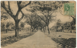 Guyana British Guiana Georgetown 26 Looking South Main Street  P.used 1924 To Barbados Brazil Tuck Collo Photo - Cartes Postales