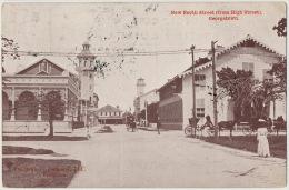 Guyana British Guiana Georgetown NewNorth Street From High Street Edit The Argosy Demerara Used To Holland - Cartes Postales