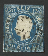 Portugal, 120 R. 1866, Sc # 24, Mi # 24, Used - Used Stamps