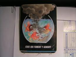 Autocollant - Ceux Qui Fument Y Gènent - 20cm X 15 Cm - Tabac (objets Liés)