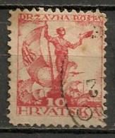 Timbres - Yougoslavie - 1919 - 10 F - - Oblitérés