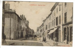 CPSM LUNEVILLE (Meurthe Et Moselle) - Rue De Viller - Luneville