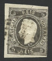 Portugal, 5 R. 1866, Sc # 17, Mi # 17, Used - Used Stamps