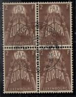 PIA - LUSSEMBURGO - 1957 :  Europa  - (Yv 531-33 X 4) - Europa-CEPT