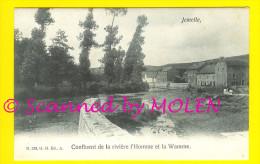 JEMELLE : CONFLUENT L´HOMME ET LA WAMME = ROCHEFORT  A421 - Rochefort