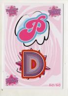 FIGURINA TRADING CARD N.50/50 - IL MONDO DI PATTY (POPULARES VS DIVINAS) - PANINI - O MUNDO DE PATTY - PATITO FEO - Panini