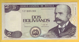 BOLIVIE - Billet De 2 Bolivianos. 1990. Pick: 202b. NEUF - Bolivia