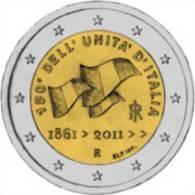 """ITALIA    2€  2.011  2011  BIMETALICA  """"UNIFICATION""""  SC/UNC     DL-9857 - Italia"""