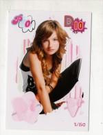 FIGURINA TRADING CARD N.1/50 - IL MONDO DI PATTY (POPULARES VS DIVINAS) - PANINI - O MUNDO DE PATTY - PATITO FEO - Panini